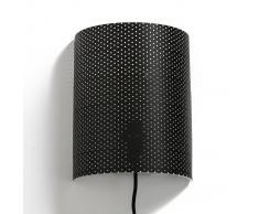 La Redoute Interieurs Aplique para pared perforado YFRY negro