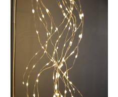 Kaemingk Guirnalda de Navidad MICRO 320 LED blanco cálido LED 1,1 metros