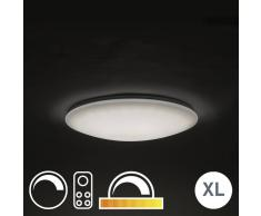QAZQA Plafón 60cm LED mando a distancia - EXTREMA