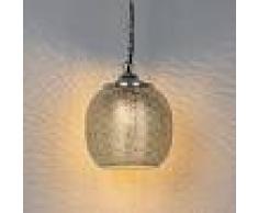 QAZQA Lámpara colgante oriental acero - SINBAD 4
