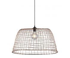 QAZQA Lámpara colgante BASKET 60 cobre