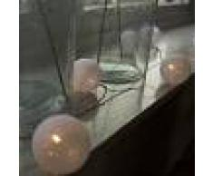 Kaemingk Guirnalda de Navidad BAL 24 blanco cálido LED 3,8 metros