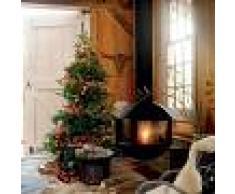 Kaemingk Árbol de Navidad AVETO LED blanco cálido 1,8 metros pequeño