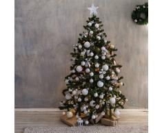 Kaemingk Árbol de Navidad ASPEN LED blanco cálido 1,8 metros