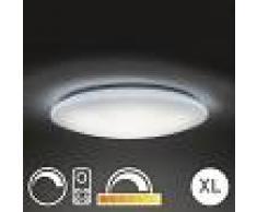 QAZQA Plafón 80cm LED mando a distancia - EXTREMA