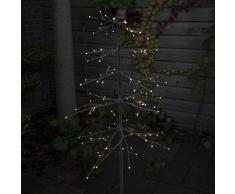Kaemingk Árbol de Navidad PINO nieve LED blanco cálido 1,2 metros