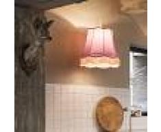 QAZQA Lámpara colgante GRANNY 45cm rosa