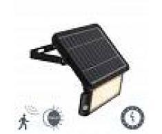Shada Proyector solar de estaca LED detector de movimiento y crepuscular - TEHO