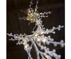 Kaemingk Luces de Navidad RAMA LED blanco cálido 1,5 metros