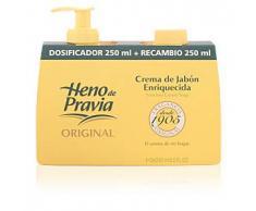 Heno De Pravia ORIGINAL crema jabón dosificador+recambio 250 ml