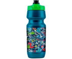 Lee Logo Botella de agua Azul un tamaño