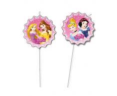 Disney Pajitas de las Princesas Disney - 6 unidades