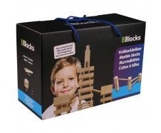 BBlocks Tablones construcción con canicas 34 piezas madera BBLO890301