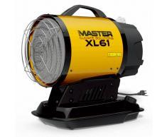 Master Radiador diésel por infrarrojos XL 61 17 kW