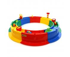 Polesie Wader Arenero infantil con pista de agua 136x136x18 cm 1450533
