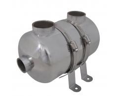 vidaXL Intercambiador de calor para piscina, 292 x 134 mm, 28 kW