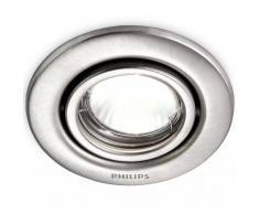 Philips myGarden Foco empotrable Fresco 50 W plateado 0179647PN