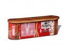 vidaXL Aparador / baúl para almacenaje de madera maciza reciclada