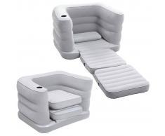 Bestway Sillón cama inflable para 1 persona Multi Max II 75065