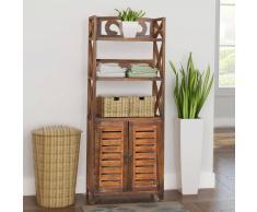 vidaXL armario de baño madera marrón modelo Albuquerque