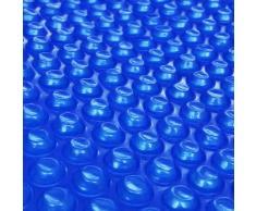vidaXL Película Redonda Azul Flotante De Polietileno 250cm Piscina