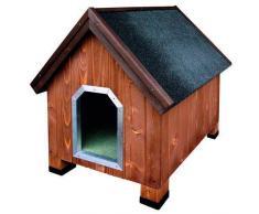 TK Pet Caseta de madera para perros Alpine Madera