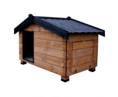 TK Pet Caseta de madera con porche para perros Mountain Madera