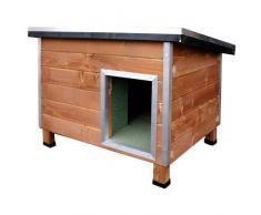 TK Pet Caseta robusta de madera para perros Nevada Madera
