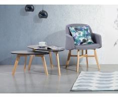 Mesa de centro de diseño - Negro - FLY II