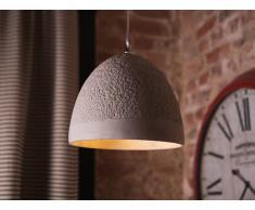Lámpara de techo - Iluminación colgante - Concreto - Gris - GLAN