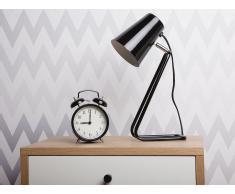 Lámpara de mesa - lámpara de oficina - Metal - Negro - KASAI