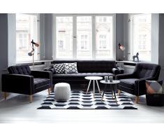 Sofá tapizado - Gris oscuro - Canapé - FLAM