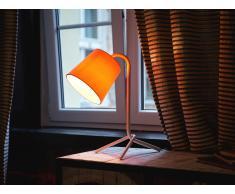 Lámpara de mesa - Iluminación de noche - Acero - Blanco - MOOKI