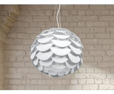 Lámpara de techo - Iluminación de salón - Blanca - MOSELLE