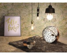 Bombilla LED ahorradora de energía - Diamante - Blanco cálido - 6 W, E 27, 6x10.5 cm