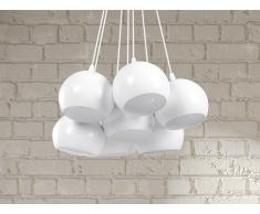 Lámpara colgante - Iluminación de techo - Blanca - OLZA