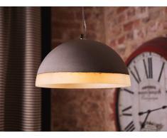 Lámpara de techo - Iluminación colgante - Concreto - Gris y blanco - CANIM