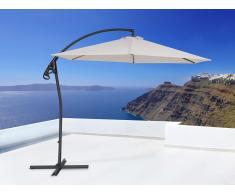 Sombrilla de jardín - Color beis - Poste de acero - ASTI II