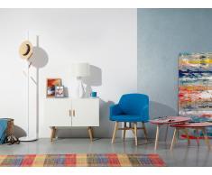 Cómoda en color blanco - Dos puertas - Mueble TV - Mueble de salón - SITKA