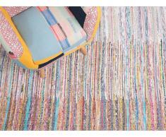 Alfombra - Algodón - 160x230 cm - Multicolor - MERSIN