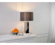 Moderna lámpara de mesa - Color negro/plata - AIKEN