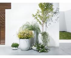Maceta - 50x50x50 cm - Redonda - Blanco - AVAN