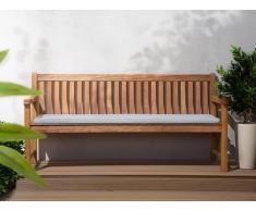 Colchón para banco de jardín TOSCANA/JAVA azul claro 169x50x5 cm