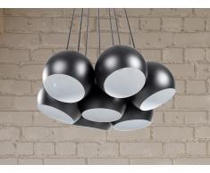Lámpara colgante - Iluminación de techo - Negra - OLZA