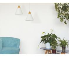 Lámpara de techo en aluminio blanca ALBANO
