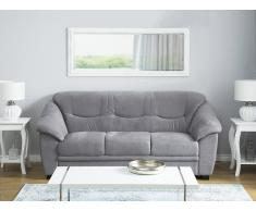 Sofá tapizado gris 3 plazas STAVANGER