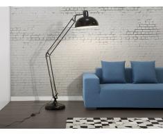 Lámpara de pie - Iluminación de salón - Negra - PARANA