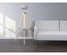 Lámpara de pie - Iluminación moderna - Color madera natural - ALZETTE