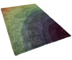 Alfombra arco iris - 300x400 cm - Pelo largo - BURSA
