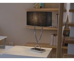 Lámpara de mesa - Iluminación de noche - Metal - Negro - YASUNI